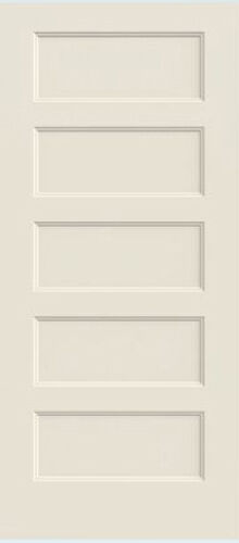 Conmore 5 Panel Primed Molded Solid Core Wood Composite
