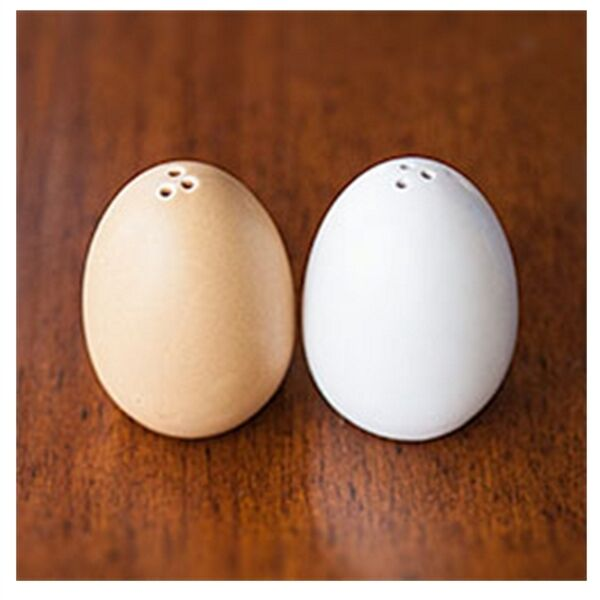 Egg shaped salt and pepper shakers ebay - Egg shaped salt and pepper shakers ...