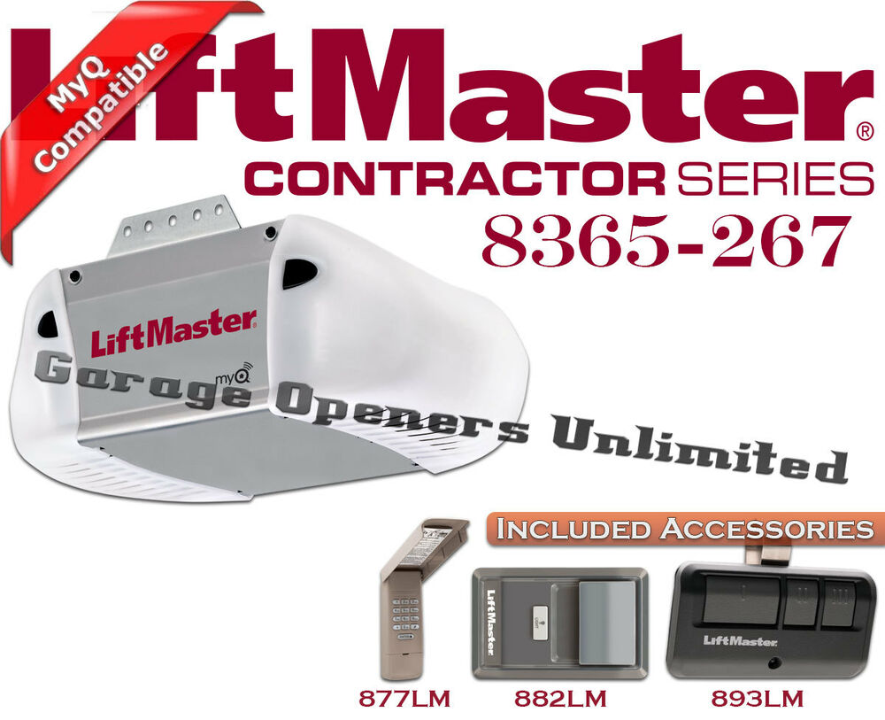 Liftmaster 8365 267 Premium Series 1 2 Hp Ac Chain Drive