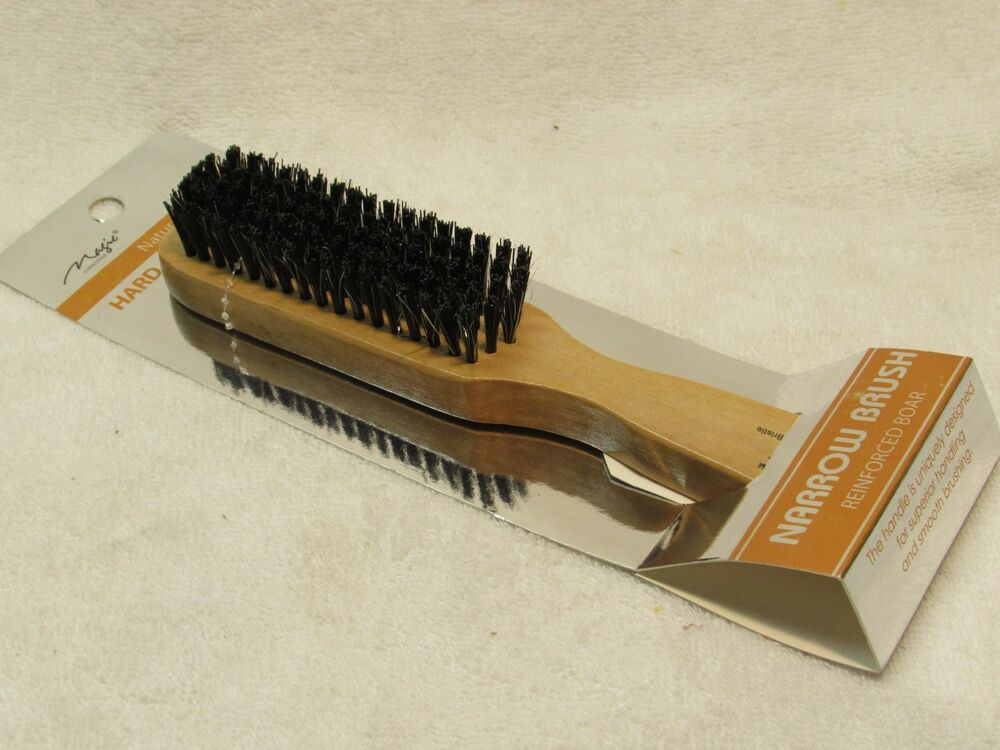 Magic Collection Wooden Hard Natural Boar Bristle Brushes