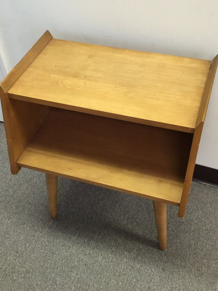 or end table for conant ball danish mid century modern ebay
