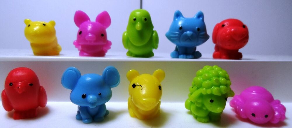 Squishy Animal Pencil Toppers : CITY SQWISHLAND SQUISHIES SQUISHY PENCIL TOPPER 10 PCS ~ CAT DOG SPIDER PIGEON eBay