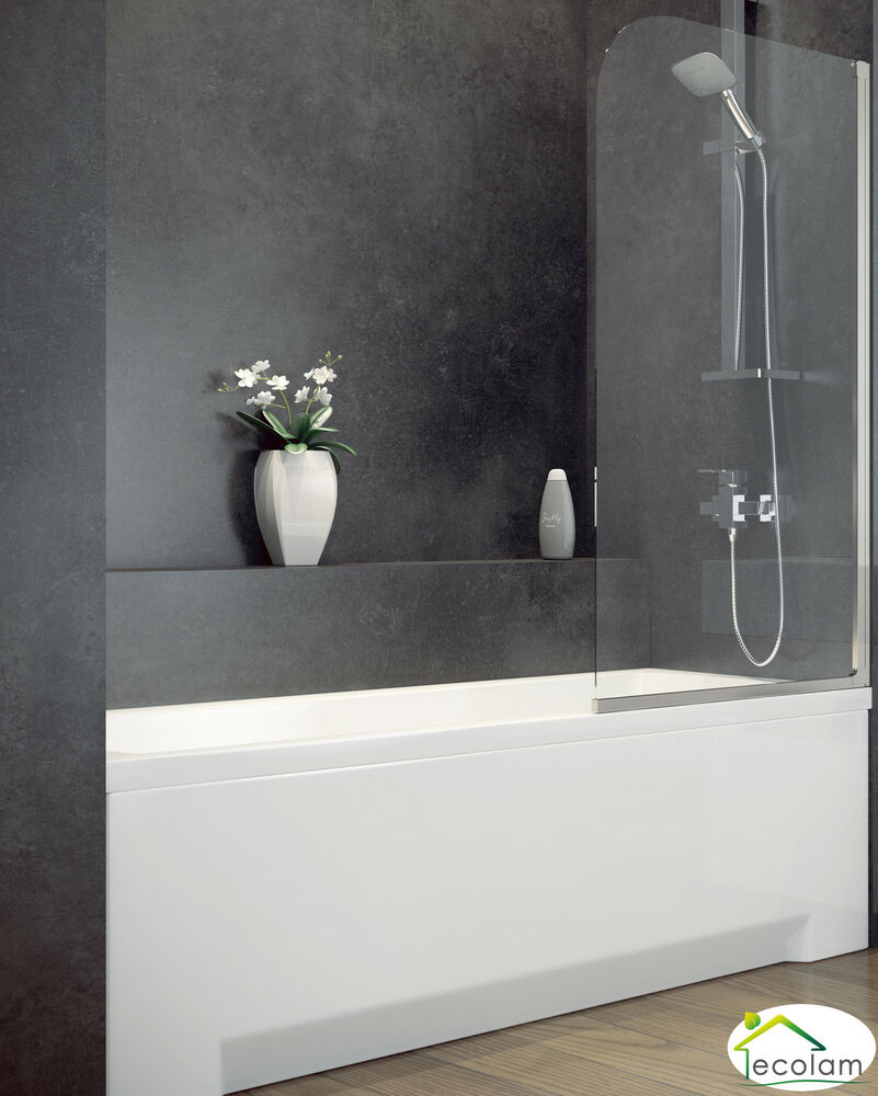 badewanne wanne rechteck 170 x 70 cm sch rze glas. Black Bedroom Furniture Sets. Home Design Ideas