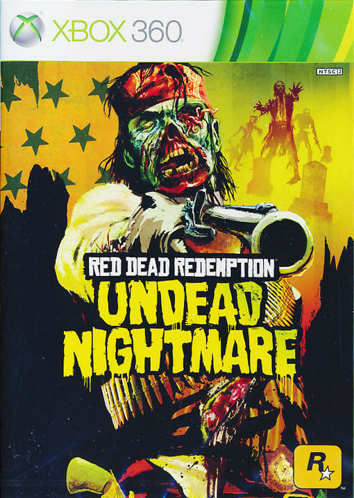Red dead redemption undead nightmare xbox 360 game brand new sealed