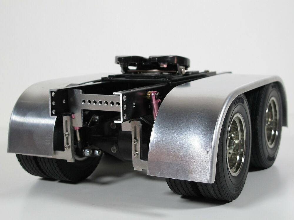 Semi Truck That S Also A Toy Car Holder : Pair aluminum dual rear fender with frame mount for tamiya