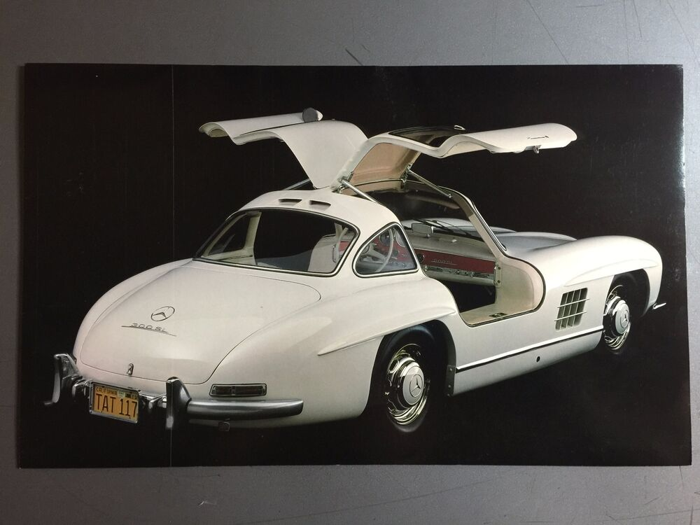 1956 Mercedes Benz 300 Sl Gullwing Coupe Picture Print