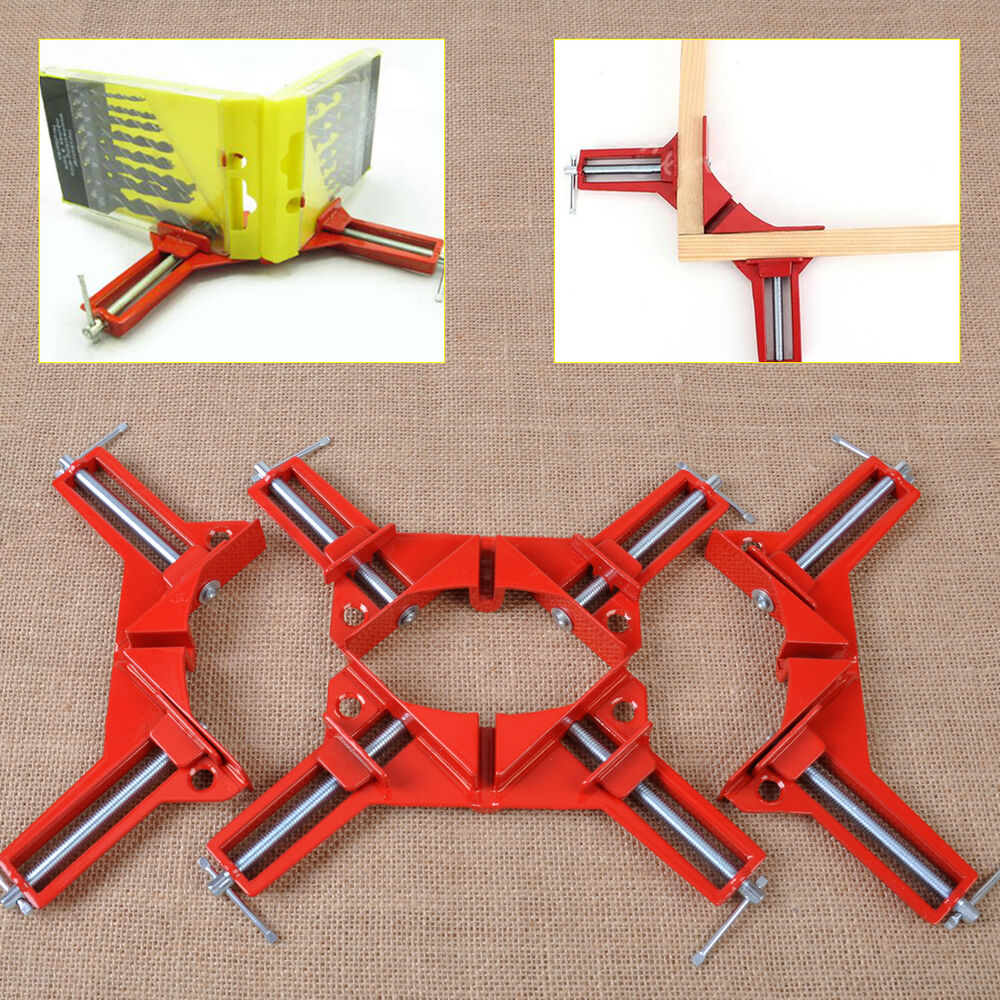 Right Angle Frame : Pcs quot right angle miter corner picture frame clamp