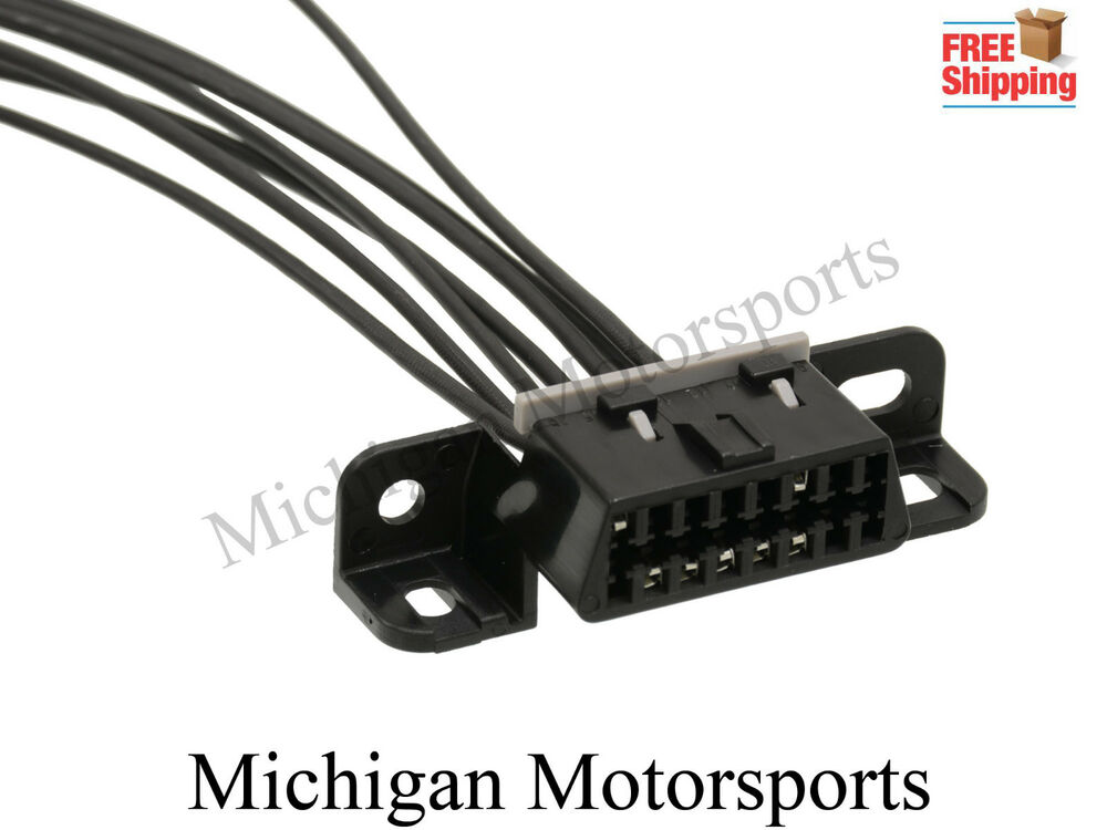 Jeep Obdii Obd2 Serial Port Harness Connector Pigtail Aldl