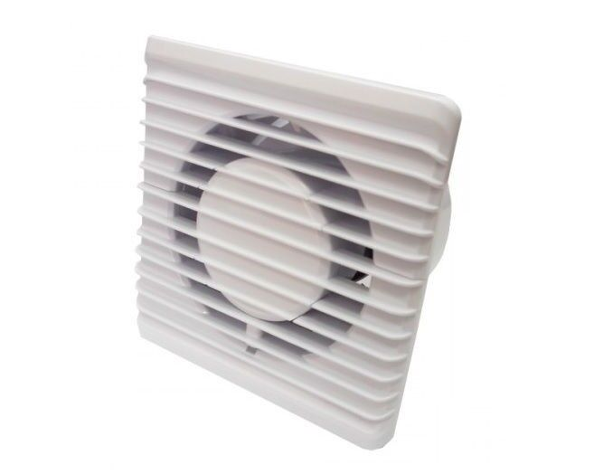 Silent Bathroom Extractor Fan 100mm 4 Quot Timer Amp Humidistat