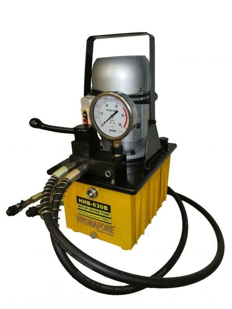 Electric Driven Hydraulic Pump 10000 Psi Double Acting