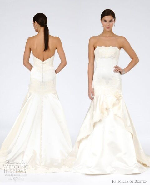 Wedding Dresses Boston: Priscilla Of Boston Danni Wedding Dress