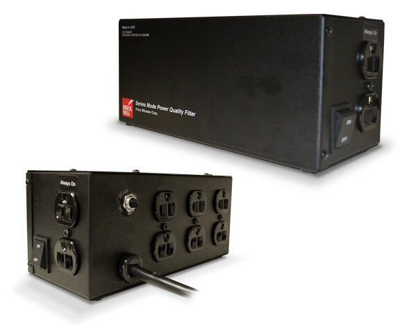 Brickwall Pw8r15aud 15a 120v 8 Outlet Surge Protector No
