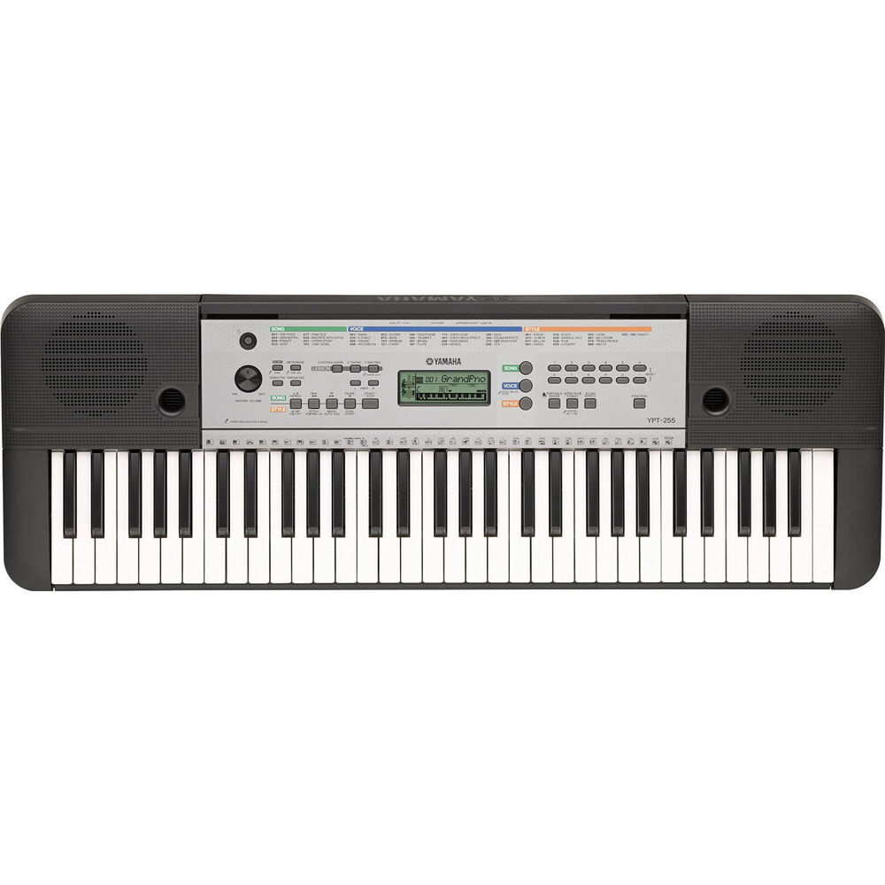 yamaha electric piano keyboard w 61 full size keys ypt
