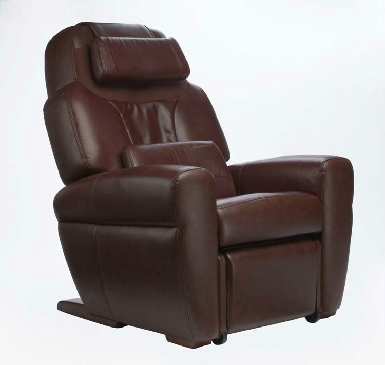 Leather Refurbished HT 1650 Human Touch Massage Chair Recliner Warranty Inclu