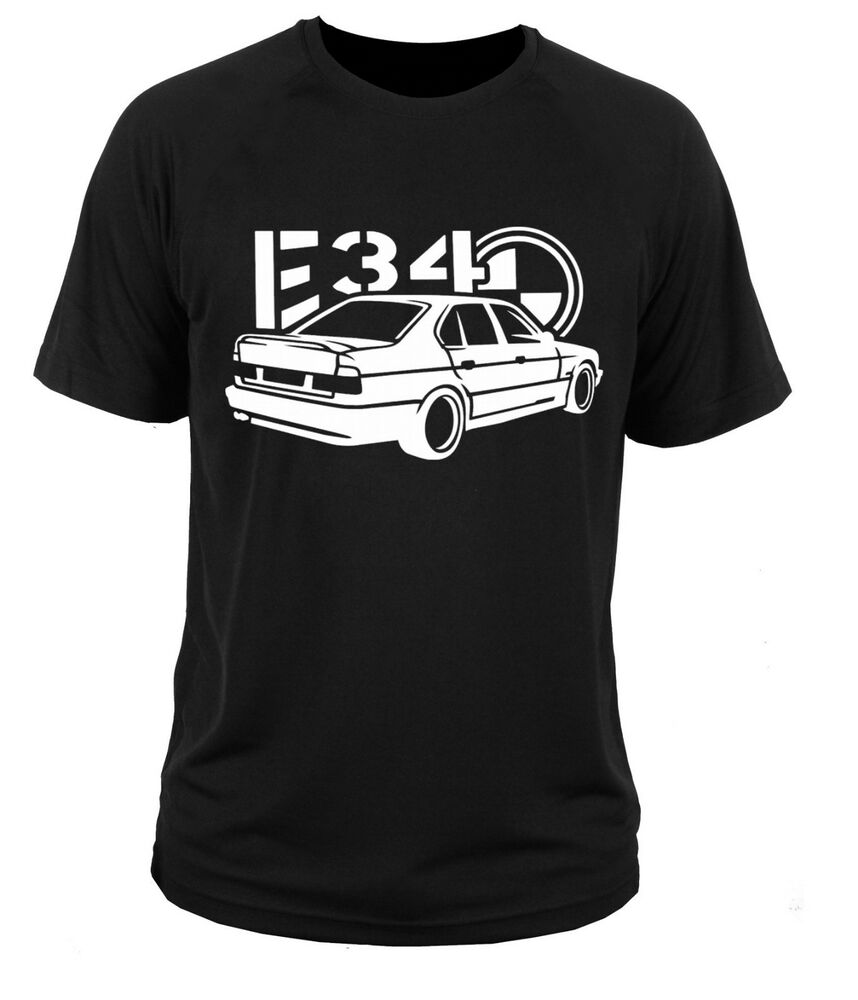 t shirt t shirt bmw e34 series 5 ebay. Black Bedroom Furniture Sets. Home Design Ideas