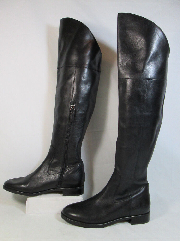 via spiga sleena leather high low cut otk fashion boots