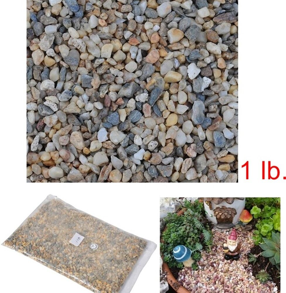small stone mini rocks river fairy garden decorative pathway dollhouse