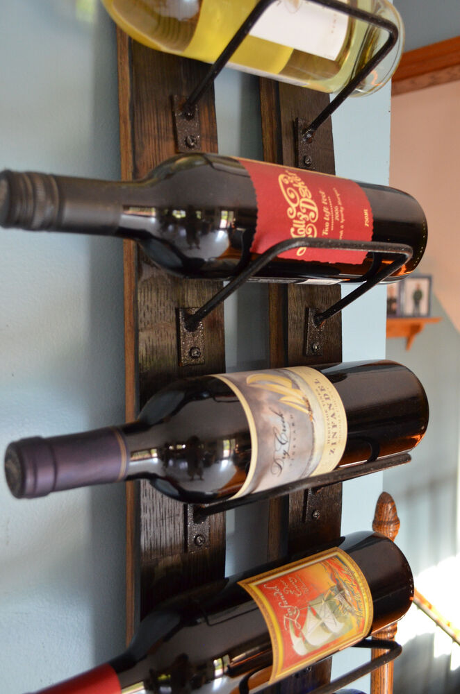 Staves Images On: Whiskey Barrel Stave Wine Rack