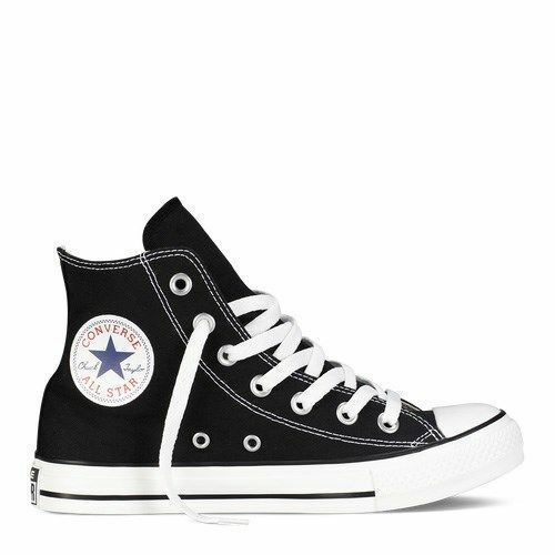 c390b5e7e837 Converse Hi Top All Star Chuck Taylor Black White Mens Womens Shoes All  Sizes