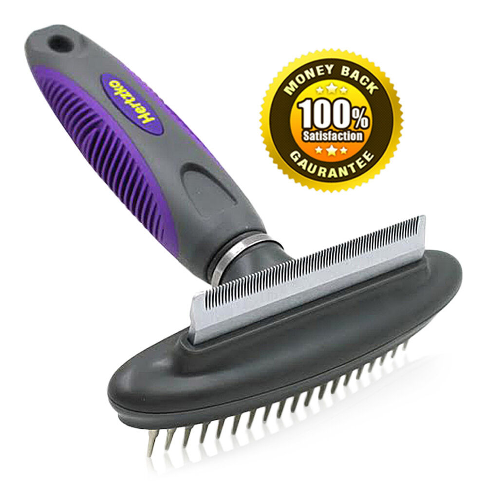 Pet Comb Amp Deshedding Tool By Hertzko 2 In 1 Great Tool
