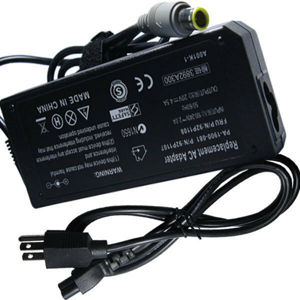Ac Adapter Charger Power Cord For Ibm Lenovo Thinkpad T61