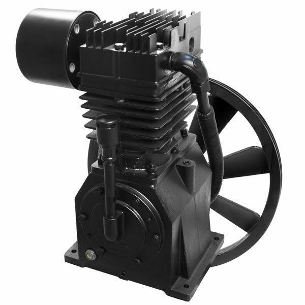Inline Air Compressor : Industrial air hp stage inline twin replacement