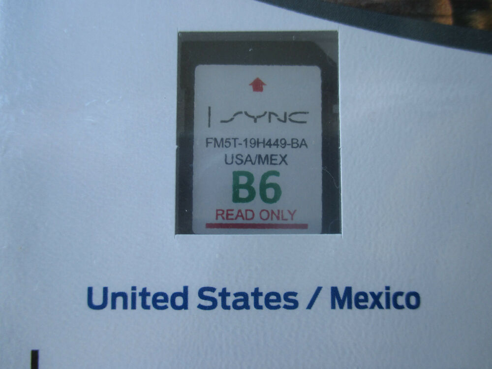 new b6 us mexico sd card map update ford navigation focus fusion edge f150 sync ebay. Black Bedroom Furniture Sets. Home Design Ideas