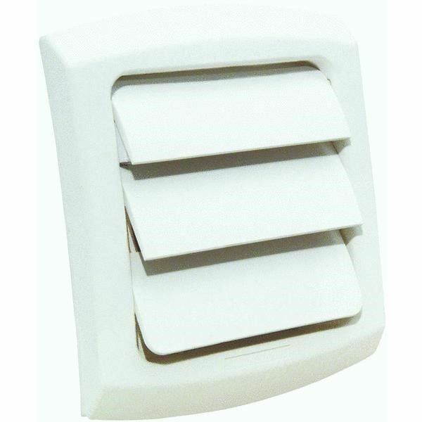 Dryer Vent Cover Louvered Fits 4 Quot Vent Pipe White