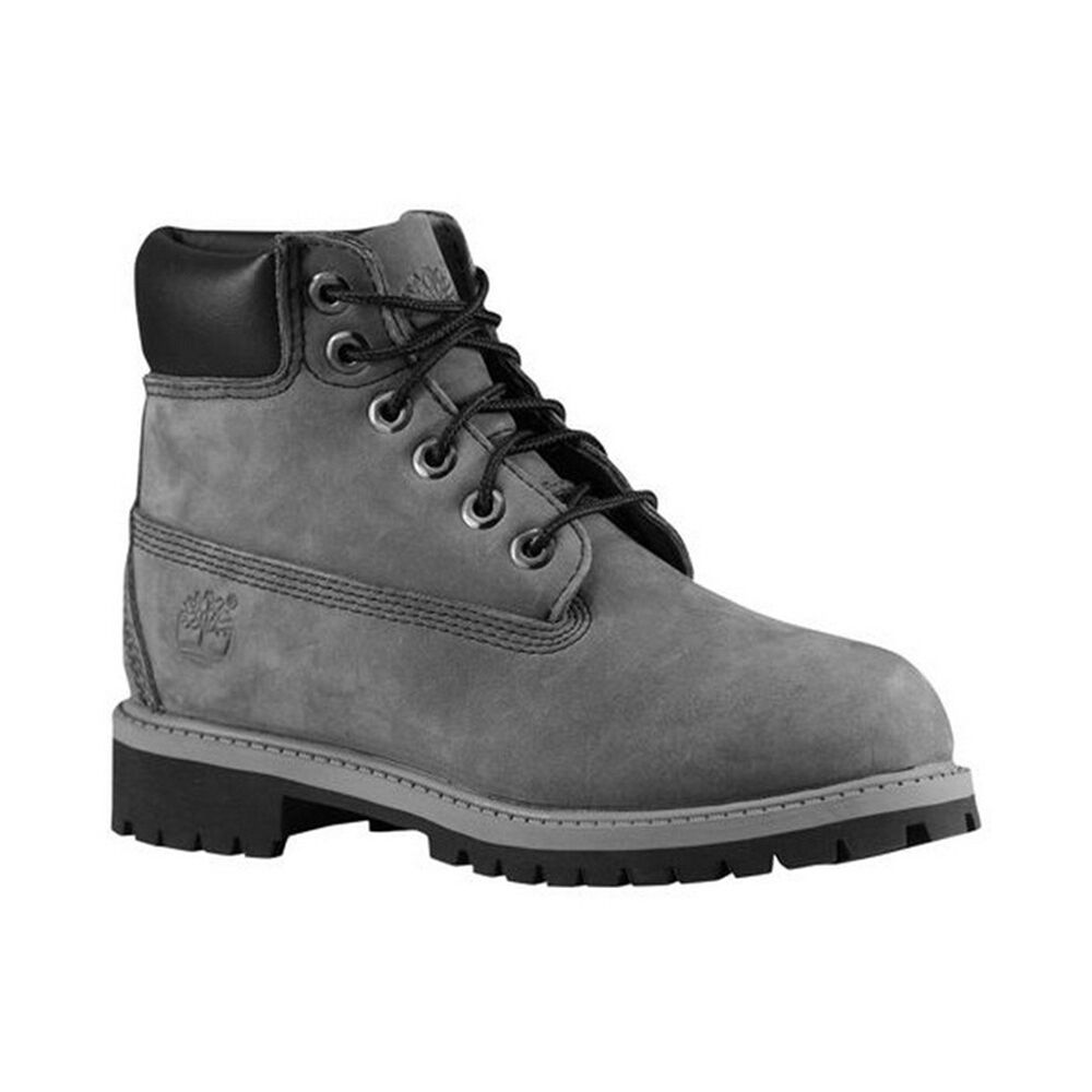 timberland boots 6 inch premium 9590r black grey suede waterproof ebay. Black Bedroom Furniture Sets. Home Design Ideas