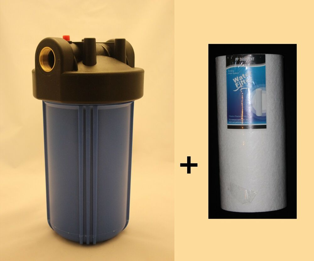 Big Blue 10 Quot Whole House Water Filter System 3 4 Quot Port