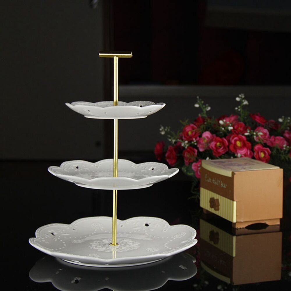 latest wedding cake stands new 3 tiers radian cake plate stand cupcake fittings 16764