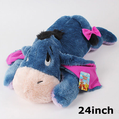 Giant Animal Pillow Bed : BNWT 24inch Large Lying Eeyore Stuffed Animal Plush Toy Cushion Bed Rest Pillow eBay
