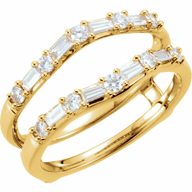 Diamond Baguette Ring Wrap