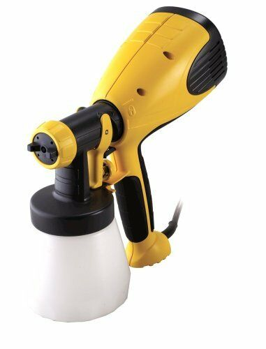 Paint spray gun wagner airless sprayer painting air for Air or airless paint sprayer