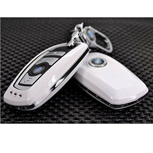 White Bmw M5 M6 3 5 7seires Smart Car Remote Fob Key Case