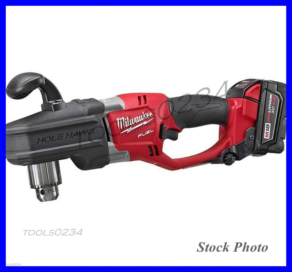 """Free Furniture In Milwaukee: New Milwaukee 2707-22 M18 FUEL HOLE HAWG 1/2"""" Right Angle"""