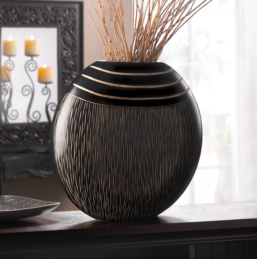 Tribal decorative vase decor centerpiece 10016778 ebay for Decoration vase