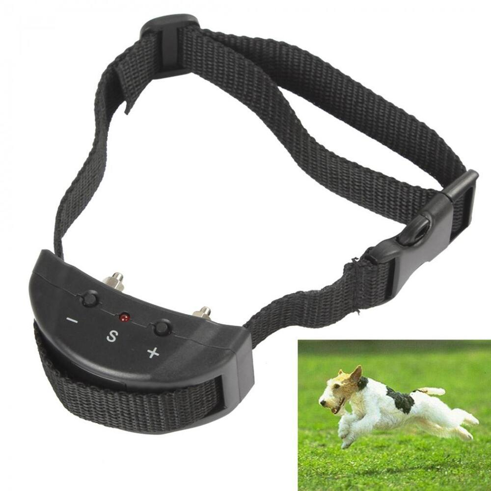 Black Anti Bark No Barking Electric Shock Vibration Dog