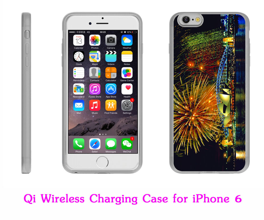 qi wireless charging iphone qi wireless charging receiver charger back cover skin 15921
