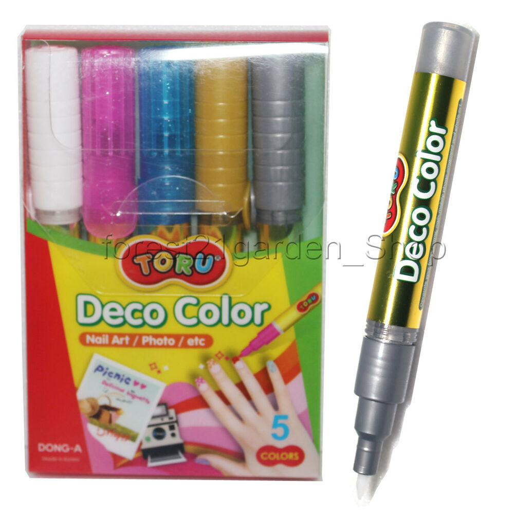 Dong A Toru Deco Color Nail Art Photomobile Phonemirror Pack