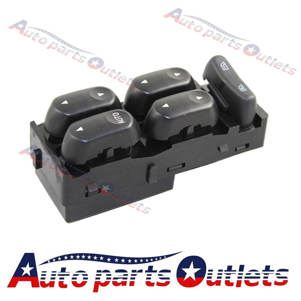 New front driver side lh master power window switch for for 2002 ford explorer driver side window switch