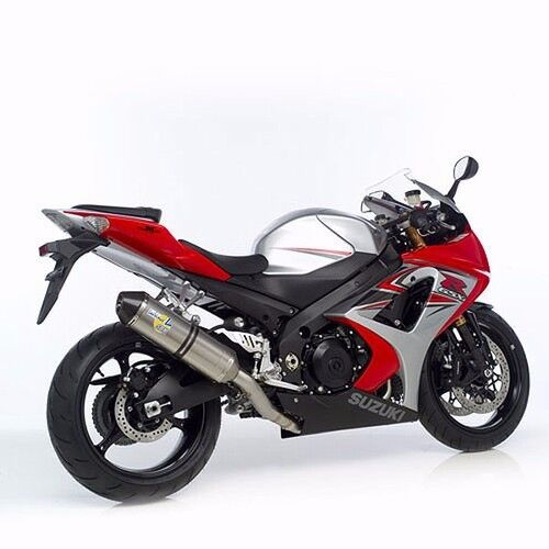 2007 2008 gsxr 1000 leo vince sbk factory slip on exhaust titanium 7747 ebay. Black Bedroom Furniture Sets. Home Design Ideas