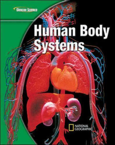 human body systems grade glencoe science student edition sci modules iscience glen important amazon isbn
