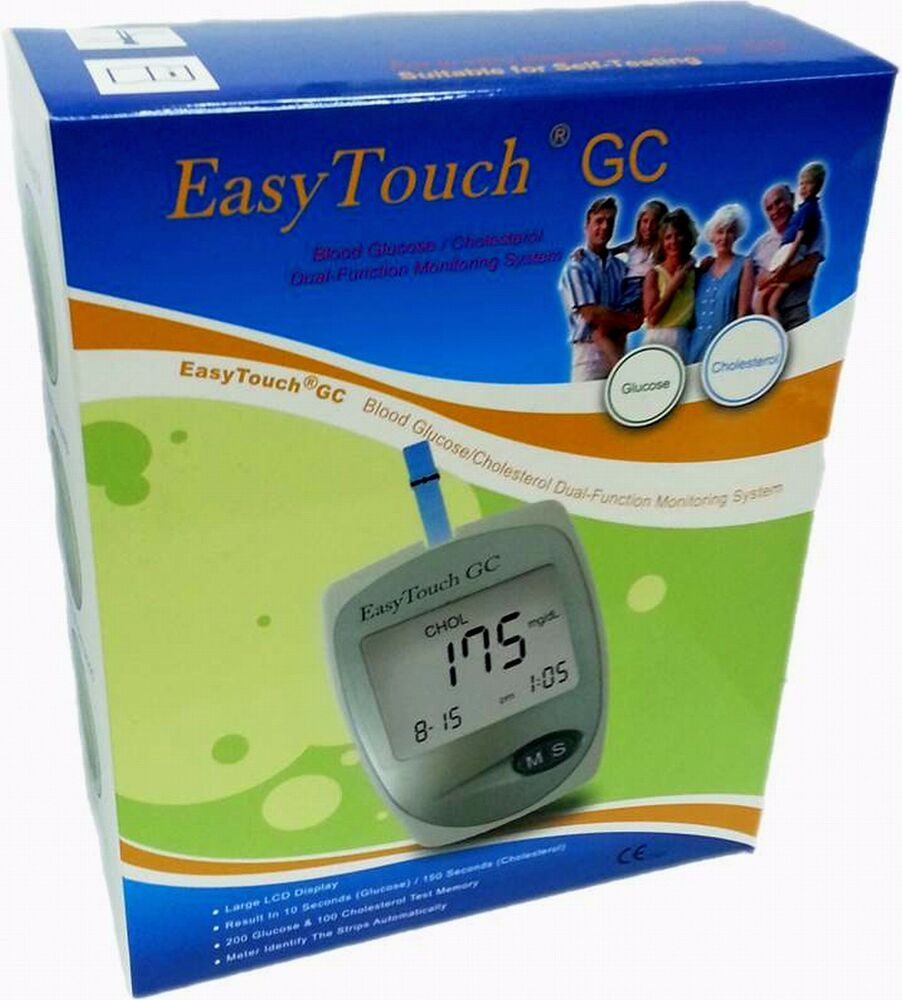 Easytouch Gc Meter Glucose And Cholesterol Meter With