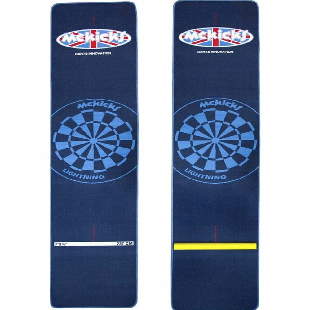 Mckicks Darts Mat Heavy Duty Carpet Mat Oche Line Or