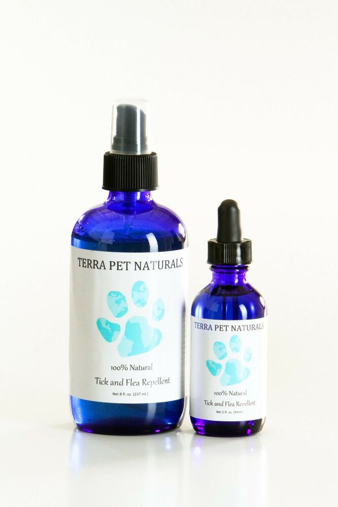 100 natural flea and tick repellent spray and topical treatment drops for dogs ebay. Black Bedroom Furniture Sets. Home Design Ideas