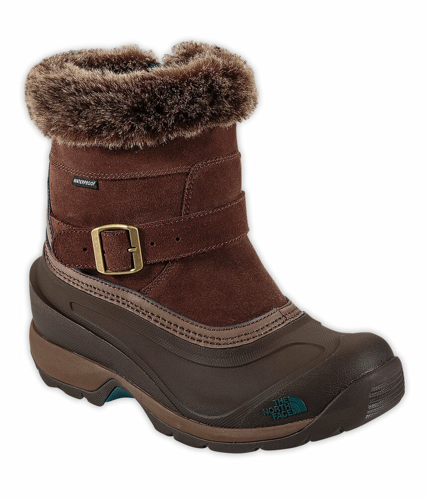 New north face chilkat iii pull on womens insulated winter boots