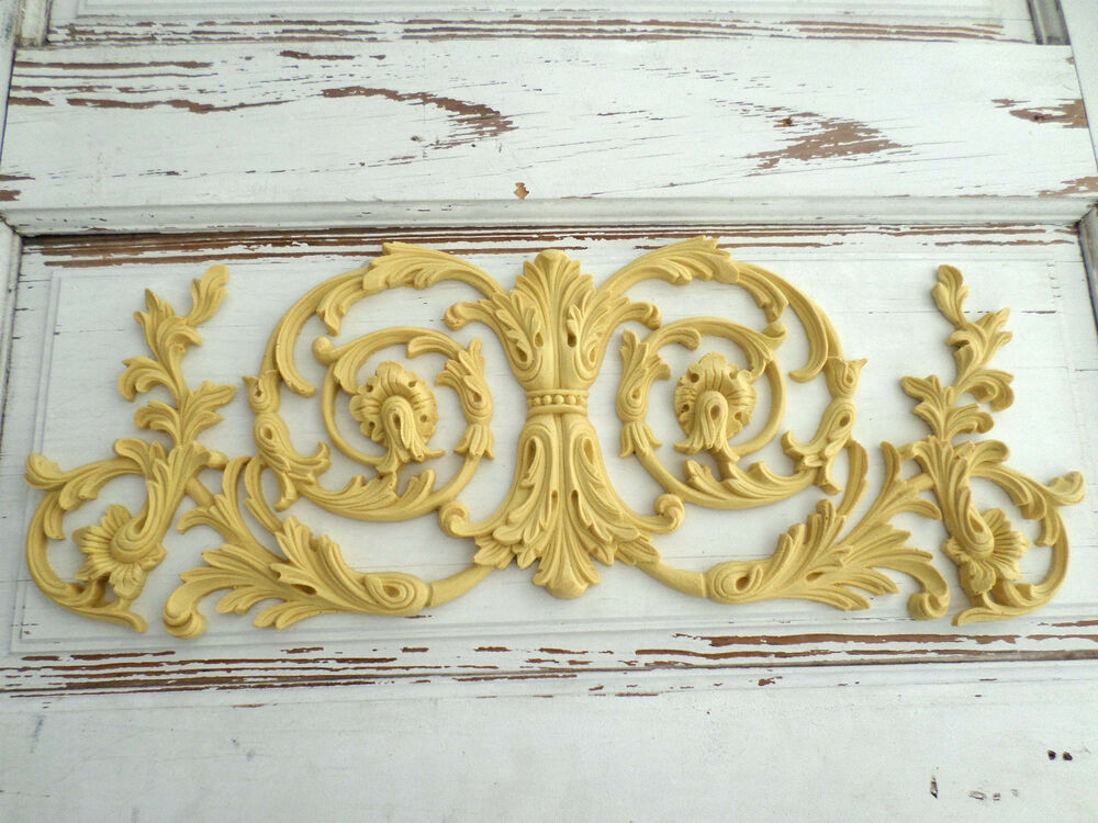 Architectural Furniture Appliques Onlays Wood Flexible Stainable Ebay