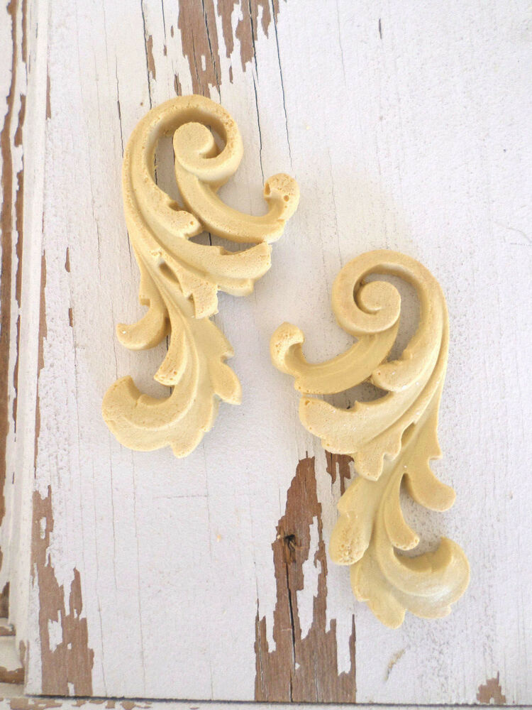 Architectural Furniture Appliques Onlays Wood Resin Flexible Stainable New Ebay