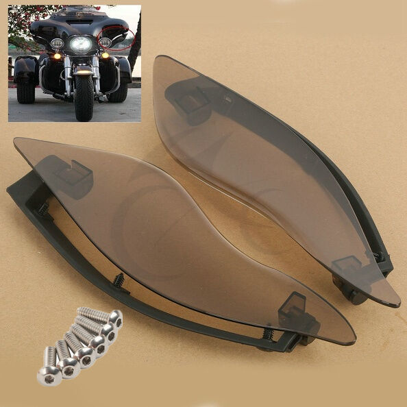 Moto Side Wings Air Deflectors For Harley Touring Electra